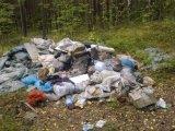 Свалка мусора на 13 км Чусовского тракта.Новые подробности