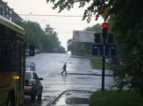 Установлены знаки дорожного движения на перекрёстке ул.Комсомольская - ул.Первомайская в г.Екатеринбурге