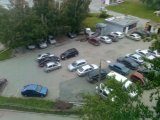 Незаконная парковка по ул. Высоцкого, 10  в Екатеринбурге #public66