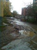 Дворовая территория по ул.Электриков д.23