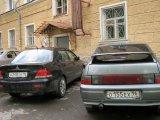 Как паркуют автомобили во дворе дома по ул.40 лет Октября, д.29