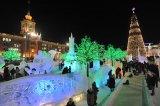 О затратах на строительство новогоднего ледового городка в 2012-13 годах