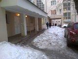 Об очистке дворовой территории от снега ул.Ленина д.52/2 и 3