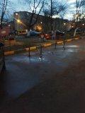 О незаконной установке ограничителей парковочных мест в мкр.Птицефабрика поселка городского типа Томилино, Люберецкий район
